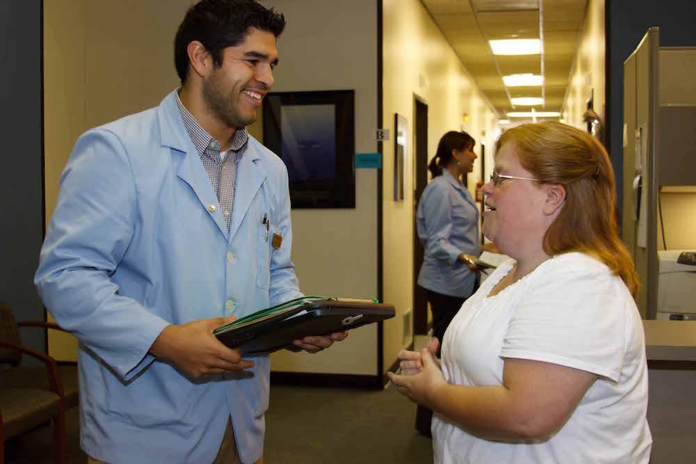 intern at the health center