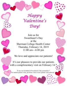 Free Valentine Day's Visit