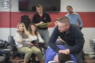 Dr. Brescia teaching