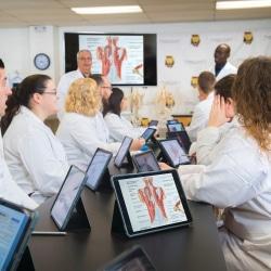 Drs. Kenya and Rivera teaching